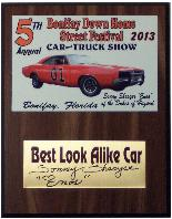 CLICK HERE for Larger Image - Plaque for Bonifay Down Home Street Festival