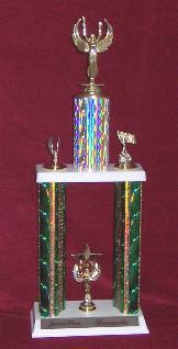 Click here for larger image of this car show trophy.